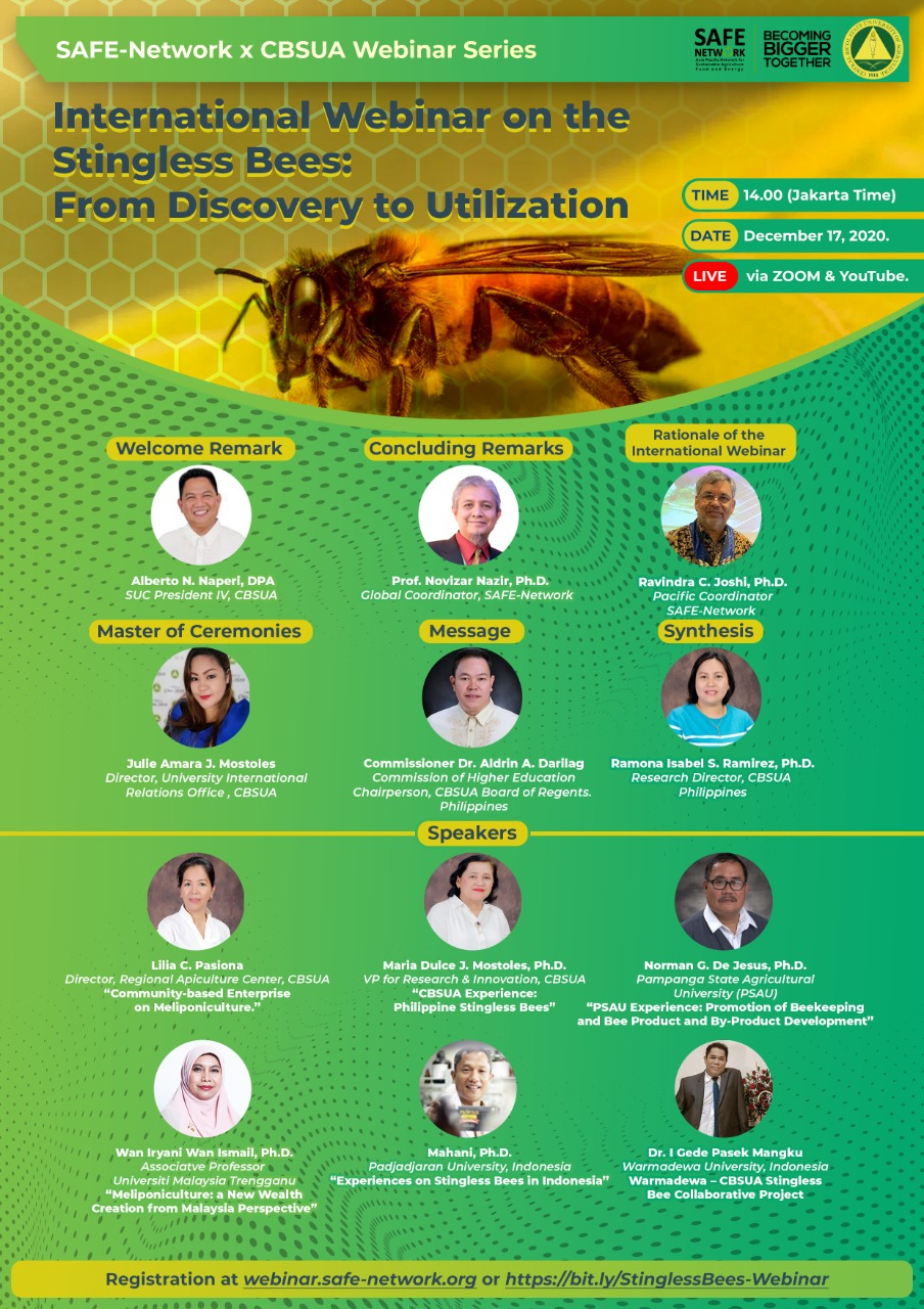 Webinar 6 International Webinar on the Stingless Bees: From Discovery to Utilization