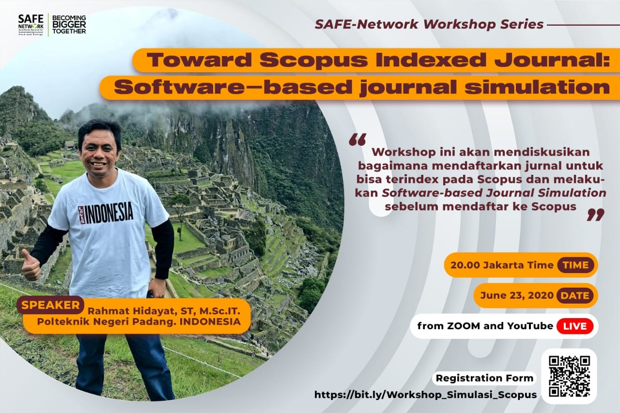 Webinar 3 Toward Scopus Indexed Journal: Software-based journal simulation